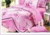 100%cotton jacquard sateen cotton bedding set/bedding set