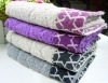 100% cotton jacquard terry towel with border
