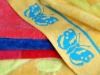 100% cotton jacquard velvet Beach Towel