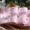 100 cotton kawaii yarn dyed bath towel fabric