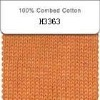 100% cotton melange yarn