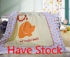 100% cotton patchwork baby quilt set high quality