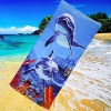 100% cotton personalized printed beach towel