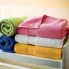 100% cotton plain dyed bath towel
