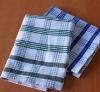 100% cotton plain dyed dish cloth &tea cloth