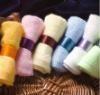 100 cotton plain face towel