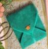 100%cotton plain weave green tea towel