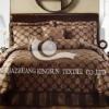 100%cotton printed bed linen set