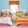 100% cotton printed bed sheet for kids