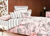 100% cotton printed bedding