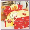 100%cotton printed bedding set