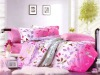 100% cotton printed bedding set