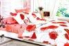 100%cotton printed bedding set