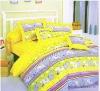100% cotton printed bedding set, Colorful bedding set