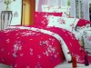 100%cotton printed bedding set / bed cover / bed sheet fabric