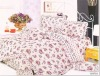 100% cotton printed bedding set, home textile