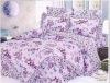100% cotton printed bedding set, home textile