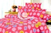 100 cotton printed bedding sheet