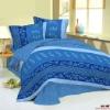 100% cotton printed bedspread (300t)