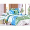 100% cotton printed bedspread for home