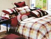 100%cotton printed comforter bedding set