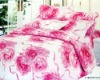 100% cotton printed comforter set