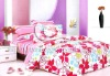 100%cotton printed duver cover bedding set