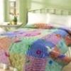 100% cotton printed quilt