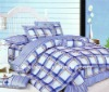 100% cotton printed thermal bed sheets
