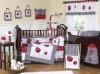 100%cotton printing baby bedding set