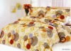 100%cotton printing bedsheet set
