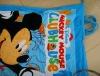 100% cotton promotational printed beach towel bag backpack