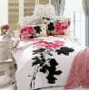 100% cotton reactive printed asian bedding set