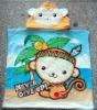 100% cotton reactive printed beach towel poncho