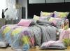 100% cotton reactive printed bed sheet set