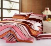 100% cotton reactive printed bedding set