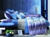 100% cotton reactive printed bedding set