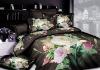 100% cotton reactive printed colorful bedding set