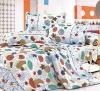 100%cotton reactive printed comforter bedding set/bedding set