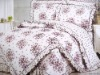 100% cotton reactive printed comforter set