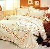 100% cotton sateen bedding sheet