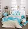 100%cotton sateen printed bedding set for kids