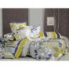 100%cotton sateen printed bedding sheet
