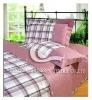 100%cotton satin printed bedsheet set