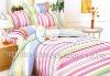 100%cotton satin printed duvet cover set