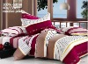 100% cotton satin reactive printing Bedding set