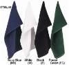 100% cotton solid color sport towel