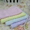 100% cotton solid dyed bath towel