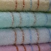 100% cotton solid hand towel