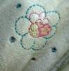 100% cotton solid terry bathrobe